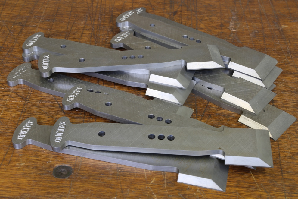 Holtey bullnose blades